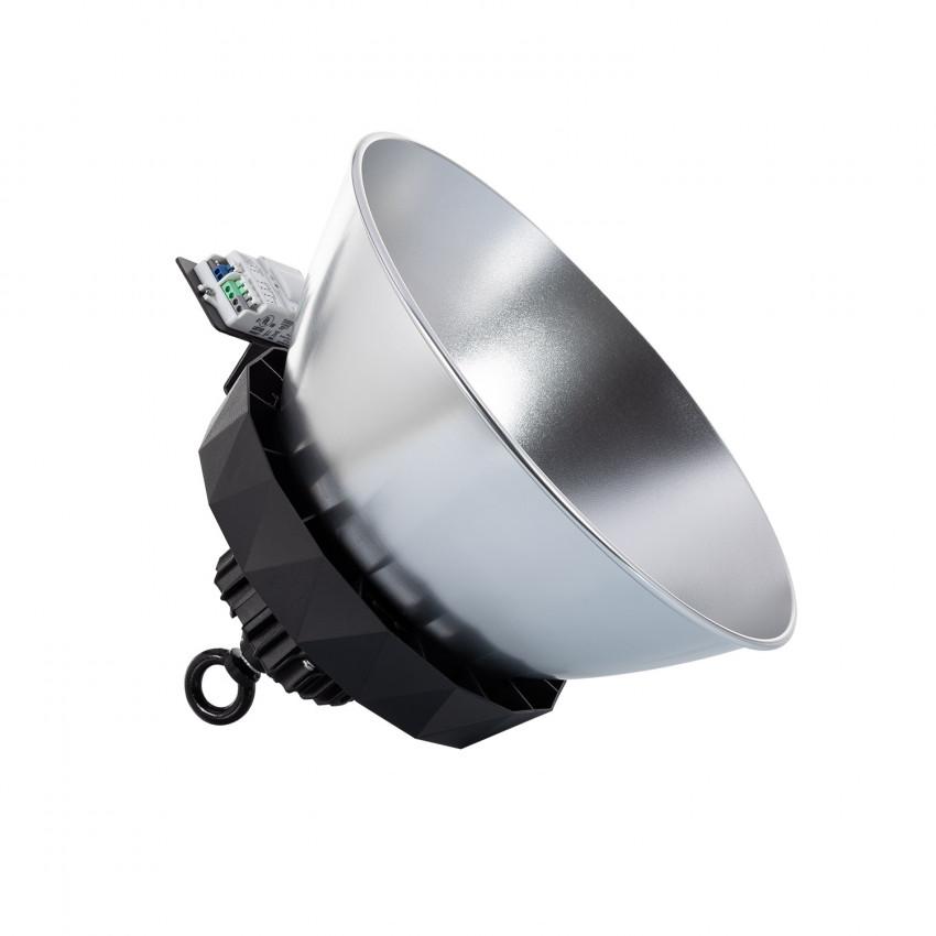 Cloche LED UFO HBS SAMSUNG 100W 175lm/W LIFUD Dimmable No Flicker avec Détecteur Mouv., Crép. et Réflecteur