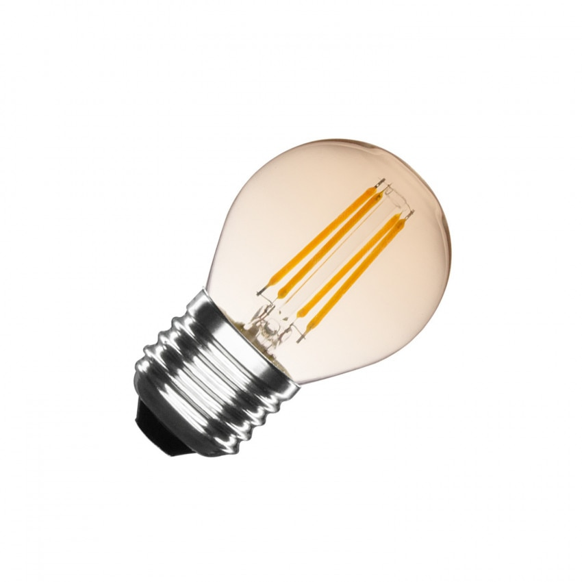 Ampoule LED E27 Dimmable Filament Gold Small Classic G45 4W