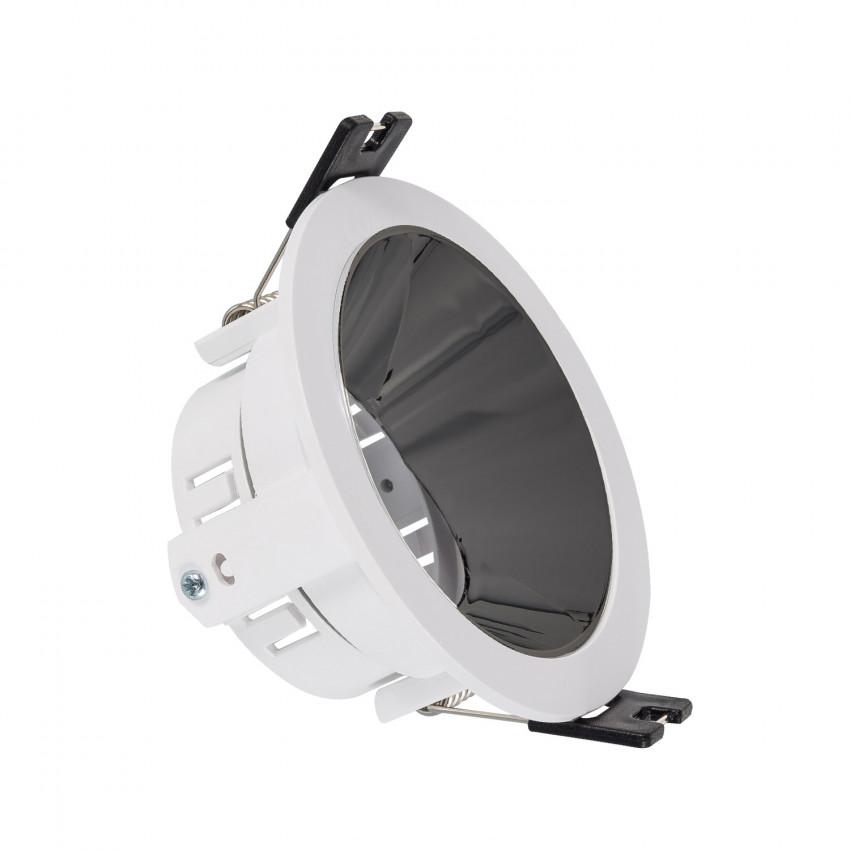 Collerette Downlight Conique PC Galvanisée pour Ampoule LED GU10