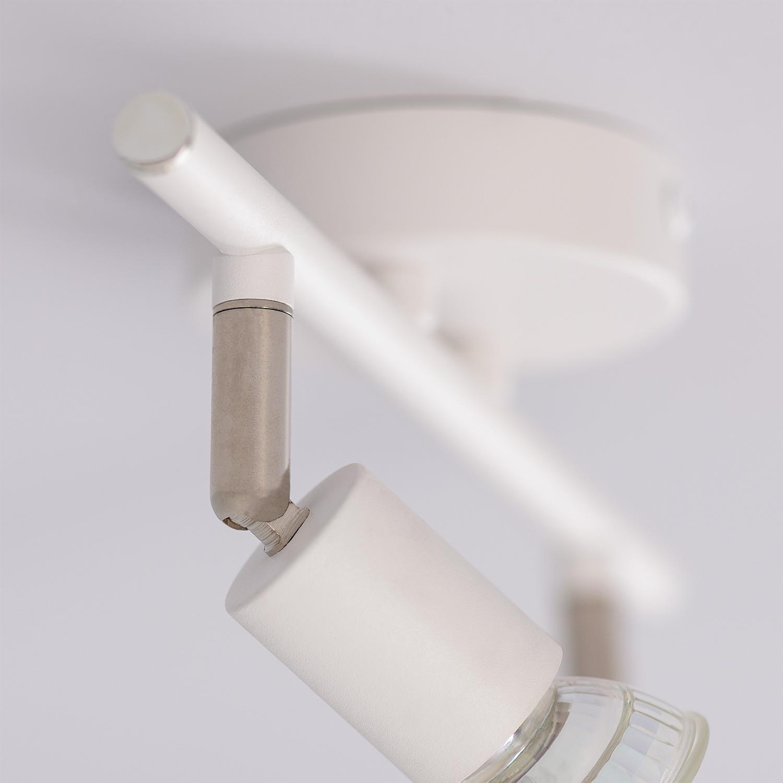 Aplique Techo Orientable Oasis 1 Foco Blanco