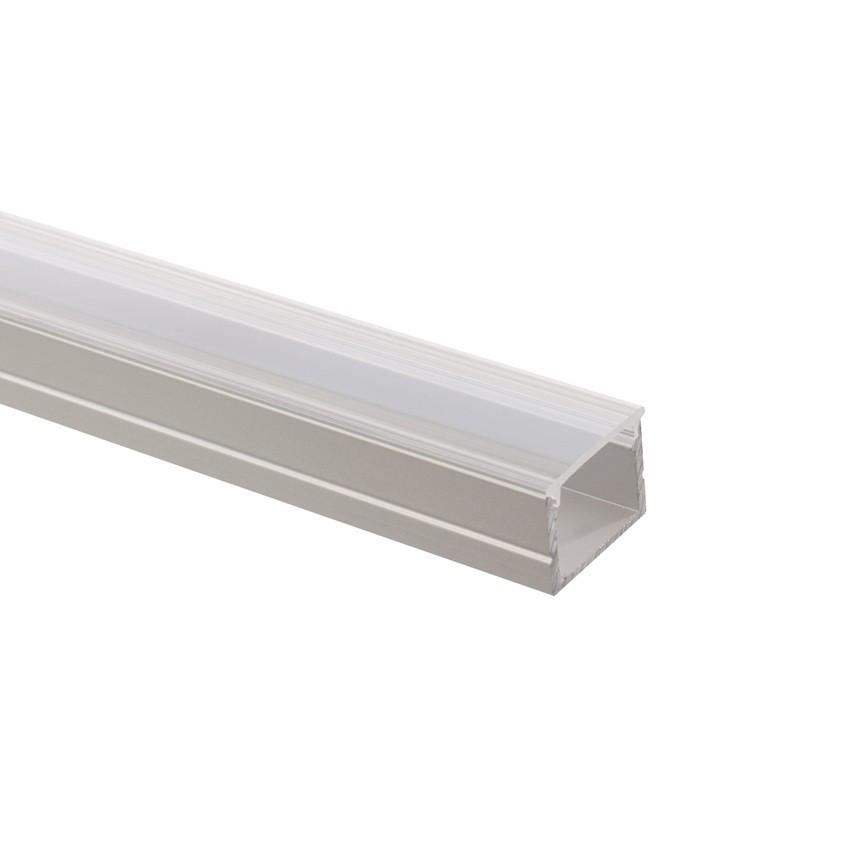Profilé Aluminium avec Capot Continu pour Ruban LED 220V AC RGB Coupe Tous les 100cm