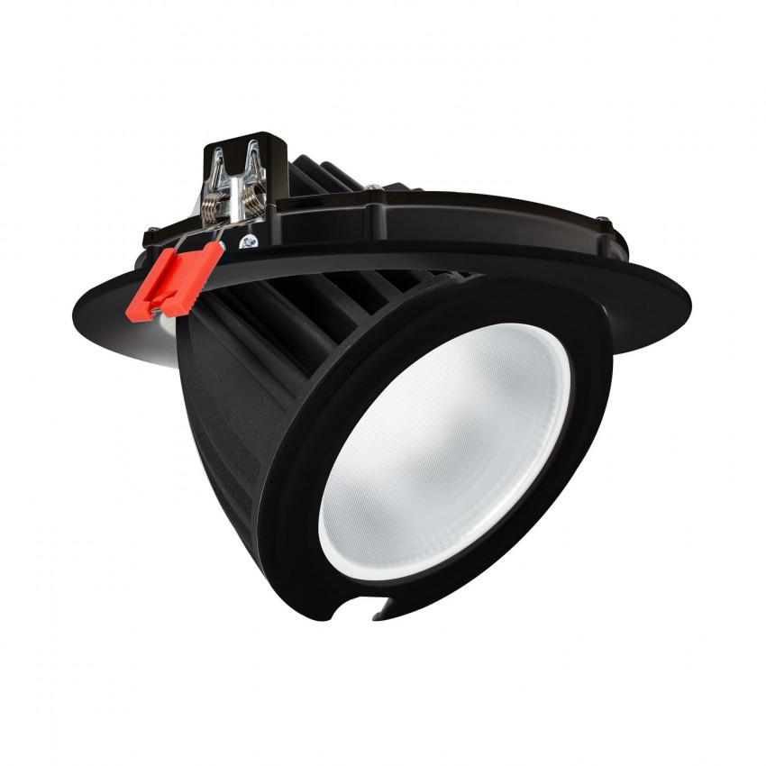 Projecteur LED SAMSUNG 125lm/W Orientable Rond 48W Noir LIFUD