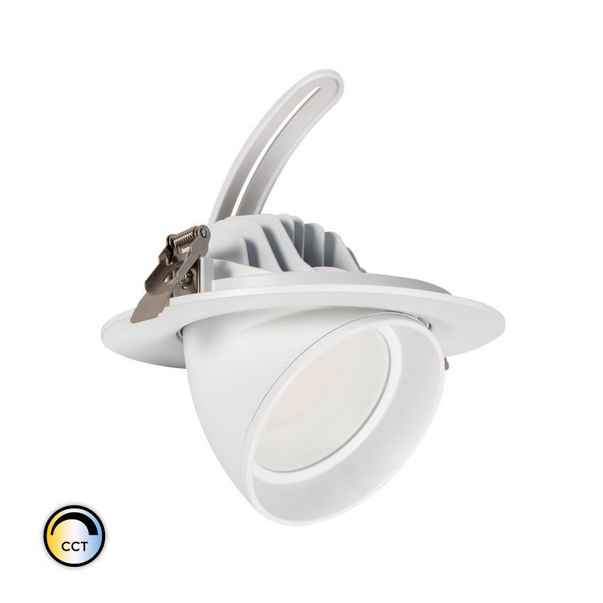 Projecteur LED SAMSUNG 125lm/W Orientable Rond 38W CCT Sélectionnable LIFUD Dimmable