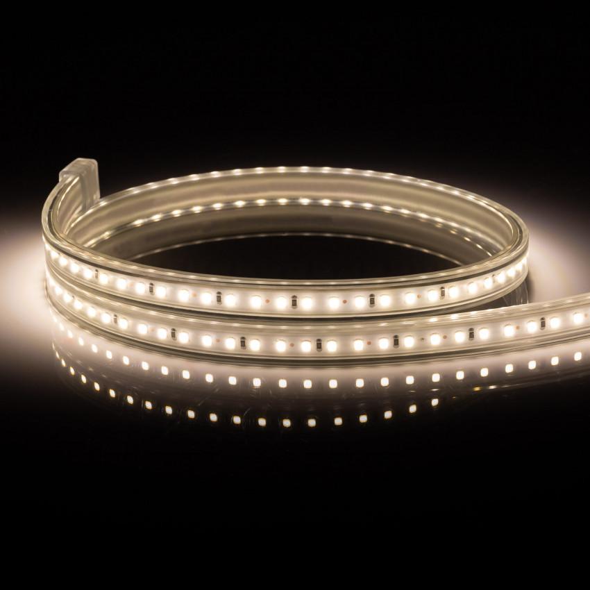 Bobine LED 220V AC 120 LED/m IP65 Blanc Chaud Coupe Tous les 50cm