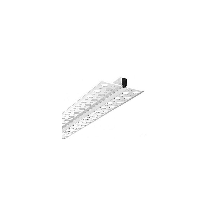 Profilé Aluminium Encastré dans Plâtre / Placo pour Ruban LED sur Mesure