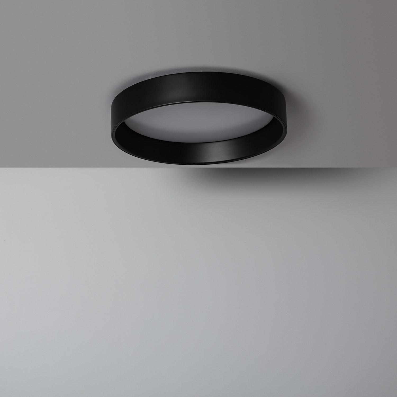Plafón LED Circular Design 15W Black