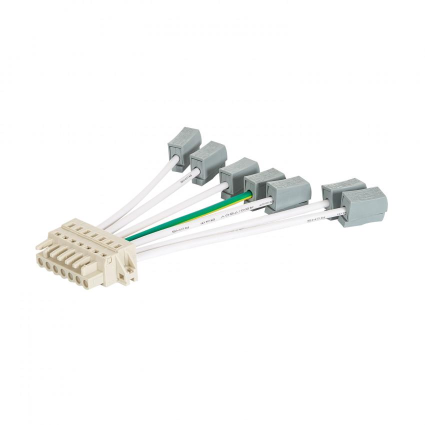 Connecteur d'Alimentation Barre Linéaire LED Trunking