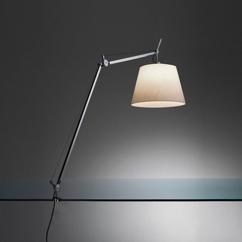 Lampe à Poser Tolomeo Mega avec Support Fixe et Interrupteur ARTEMIDE