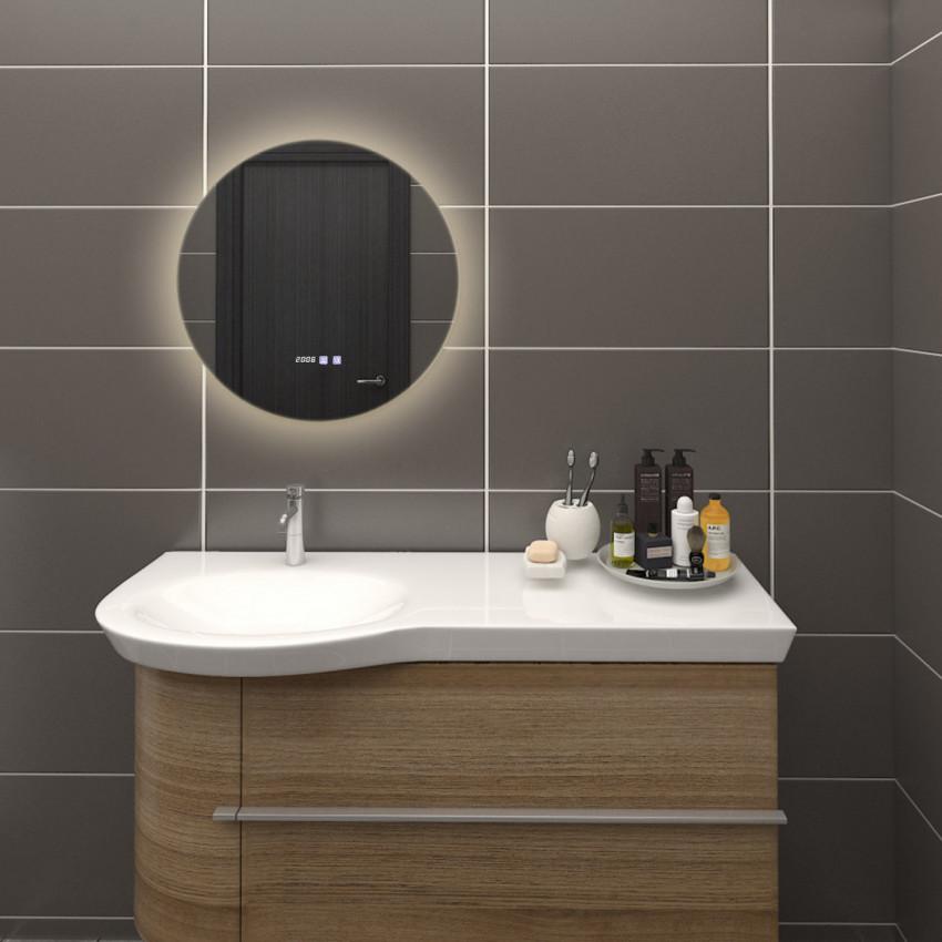 Miroir Décoratif LED Anti-buée Tactile Volpe