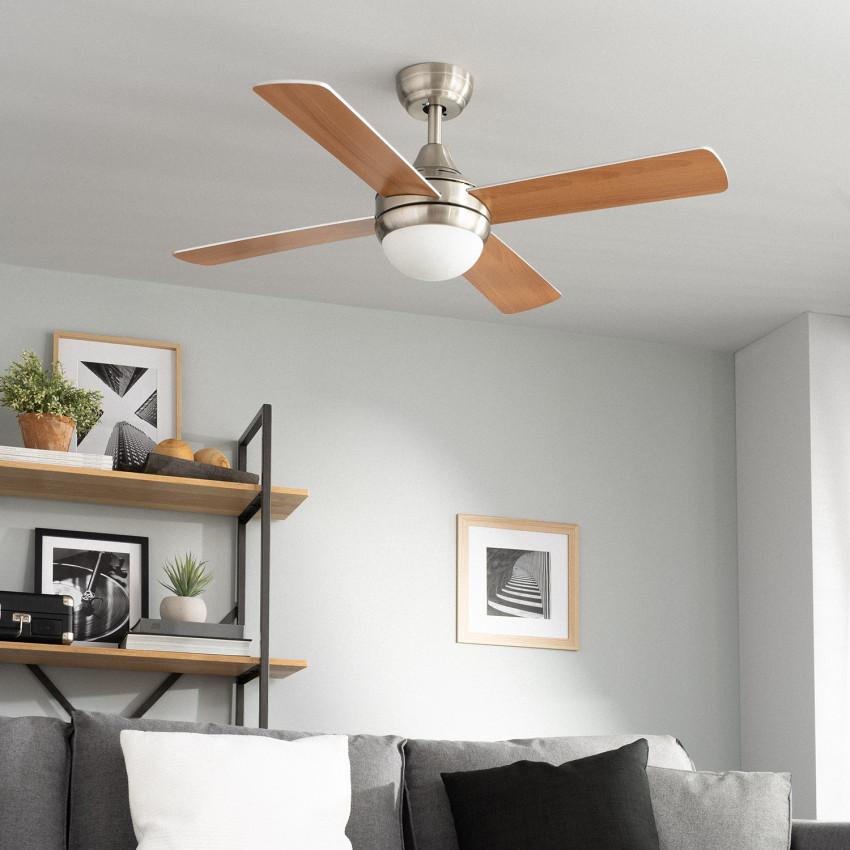 Ventilateur de Plafond Navy Bois 110cm Moteur AC