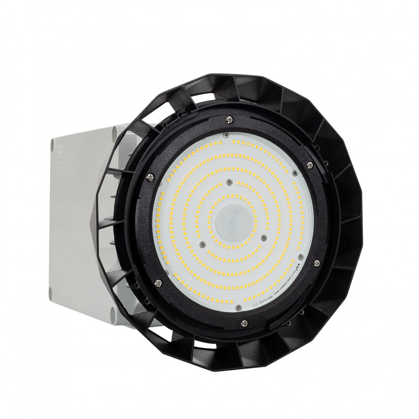 Cloche LED UFO HBS SAMSUNG 150W 175lm/W LIFUD Dimmable No Flicker + Kit Éclairage de Secours