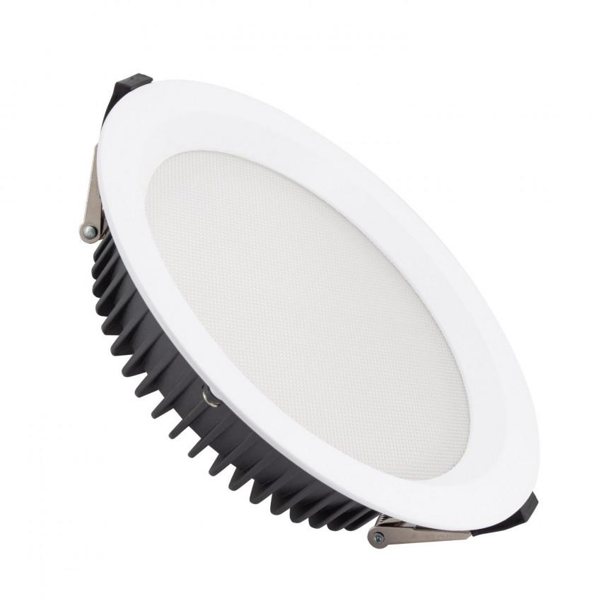 Downlight LED SAMSUNG New Aero Slim 130lm/W 40W (UGR17) LIFUD Coupe Ø 200mm