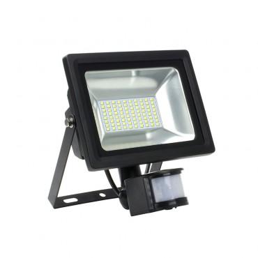 Projecteur LED avec Détecteur Blanc Neutre 30W