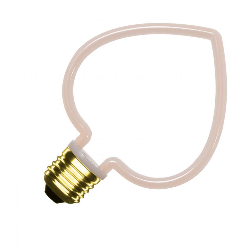 Ampoule LED E27 Filament Heart A60 4W