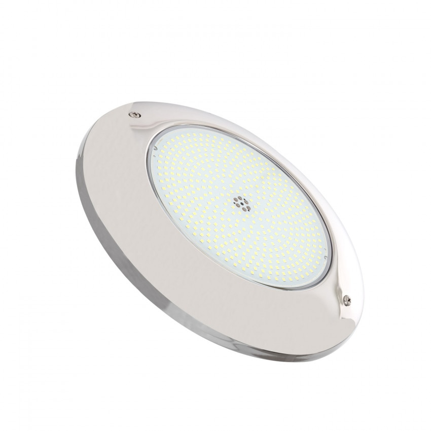 Spot LED Piscine en Saillie Inox 6000K 12V AC/DC 35W