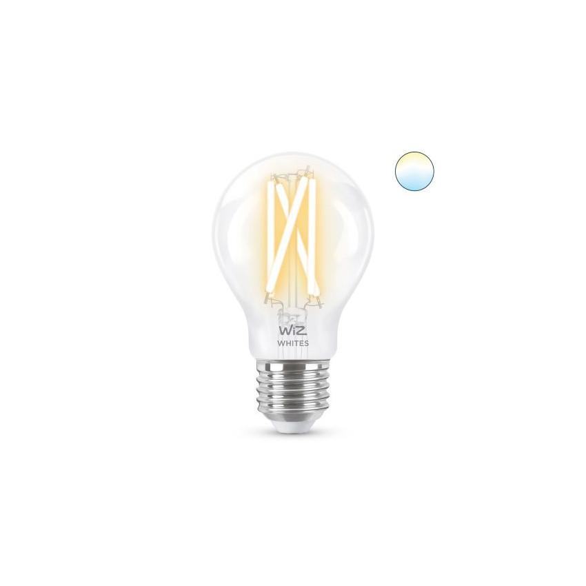 Ampoule LED Smart WiFi E27 A60 CCT Dimmable WIZ Filament 6.7W