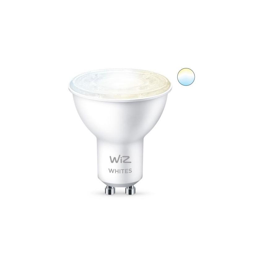 Pack 2 Ampoules LED Smart WiFi + Bluetooth GU10 PAR16 CCT Dimmable WIZ 4.9W