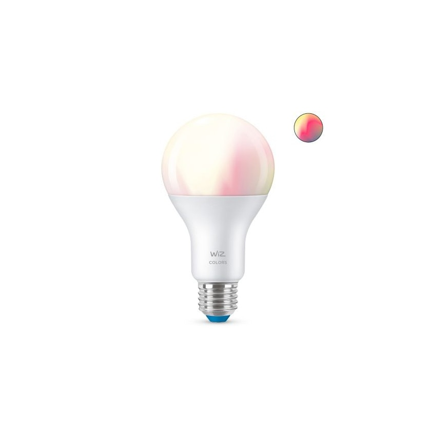 Ampoule LED Smart WiFi + Bluetooth E27 A67 RGB+CCT Dimmable WIZ 13W