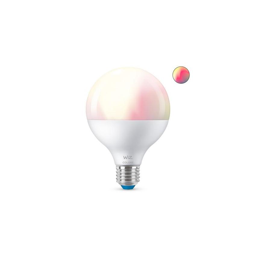 Ampoule LED Smart WiFi + Bluetooth E27 G95 RGB+CCT Dimmable WIZ 11W