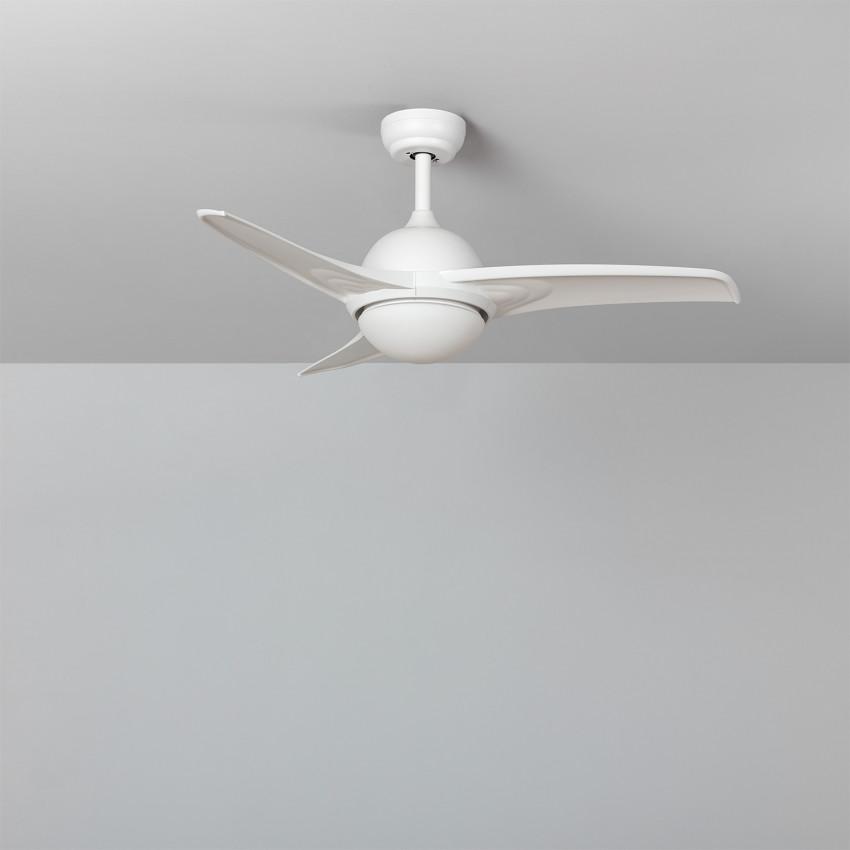 Ventilateur de Plafond LED Aran Blanc 107cm Moteur DC