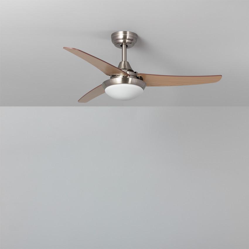 Ventilateur de Plafond LED Neil Bois 107cm Moteur DC