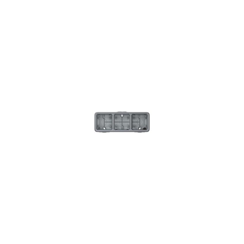 Boîtier en Saillie 3 Élements Horizontaux Plexo LEGRAND 069680