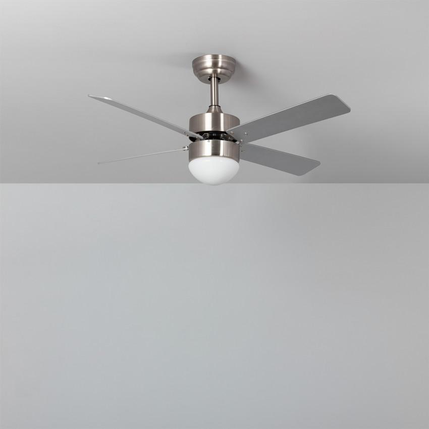 Ventilateur de Plafond LED Cygnus Niquel 107cm Moteur DC