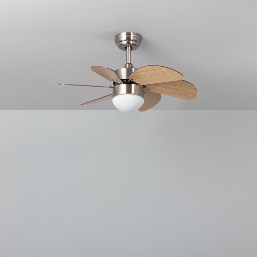 Ventilateur de Plafond LED Orion Bois 81cm Moteur DC