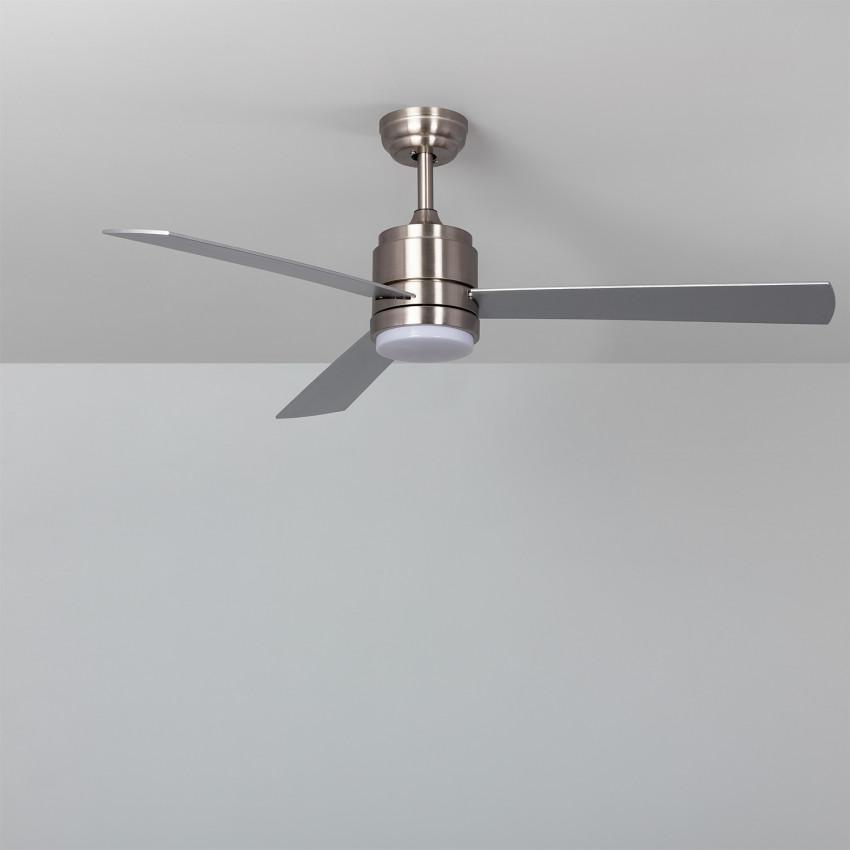Ventilateur de Plafond LED Atlantis Niquel 132cm Moteur DC