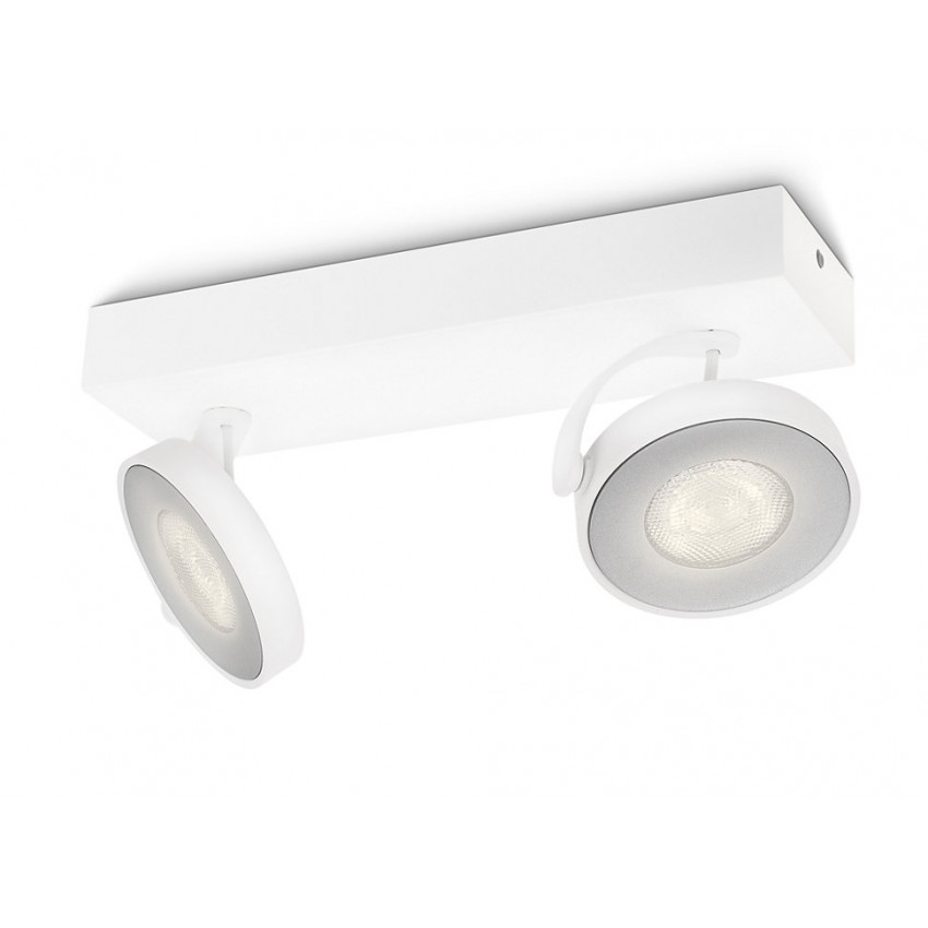 Plafonnier LED Dimmable 2x4.5W PHILIPS Clockwork
