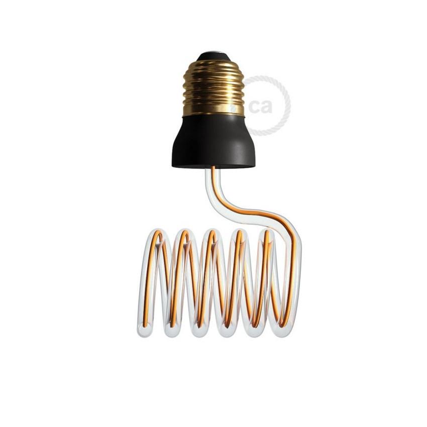 Ampoule LED E27 Dimmable Filament 12W Art Loop Cross Creative-Cables Modèle SEG50157