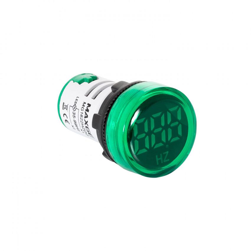 Indicateur Lumineux Fréquencemètre MAXGE 35-99Hz Ø22mm