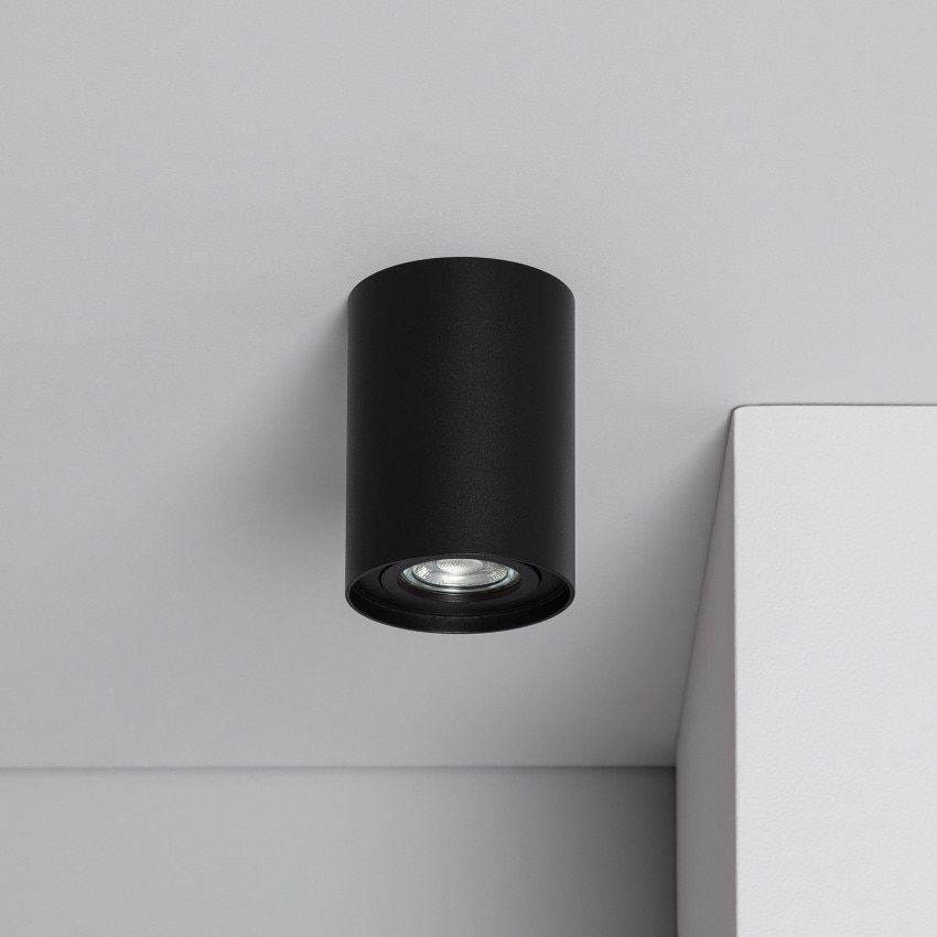 Plafonnier Quartz Aluminium Noir
