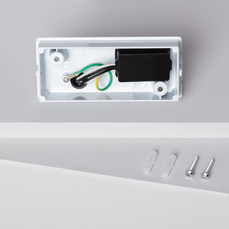 Aplique LED Miseno Plata