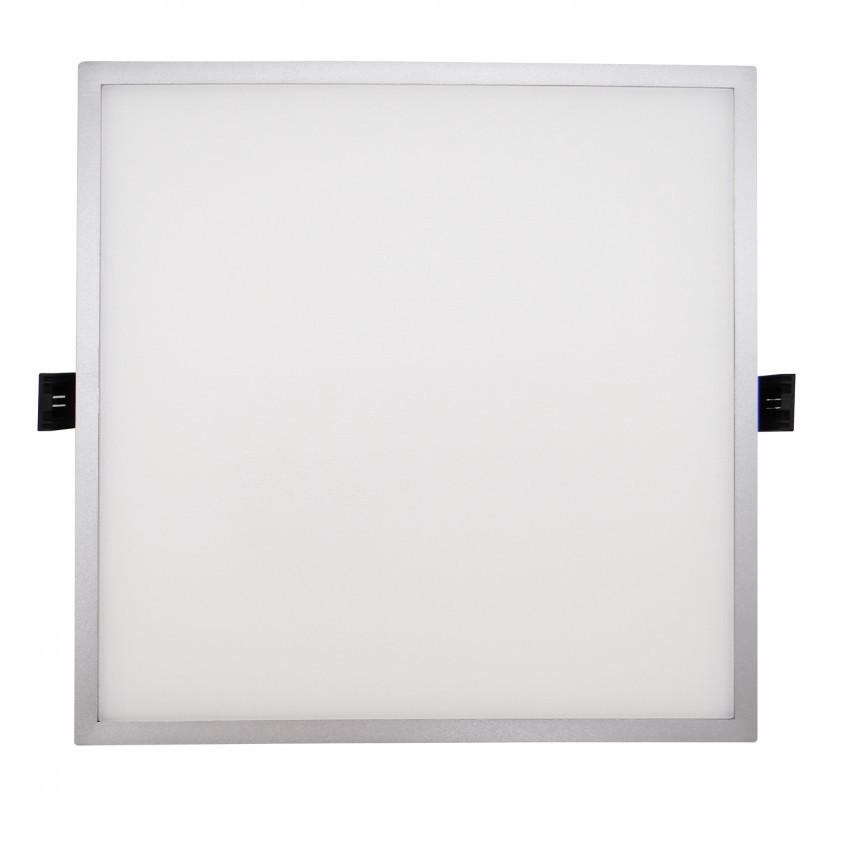 Dalle LED Carrée Slim Surface 16W (UGR19) LIFUD Grise Coupe Ø135mm