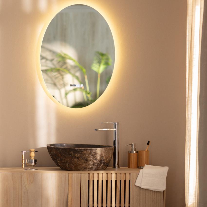 Miroir LED Anti-buée Catedrais 70x50cm