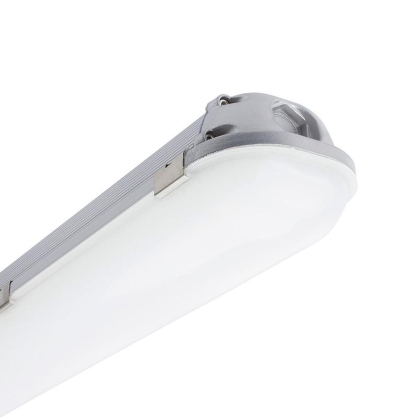 Réglette Étanche LED Intégré Aluminium 1200mm 40W