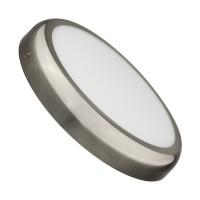 Plafonnier LED Rond Design 24W Silver