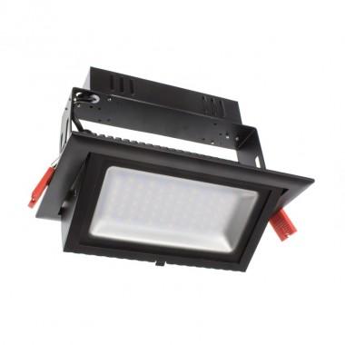 Projecteur LED Samsung 120lm/W Orientable Rectangulaire 28W Noir
