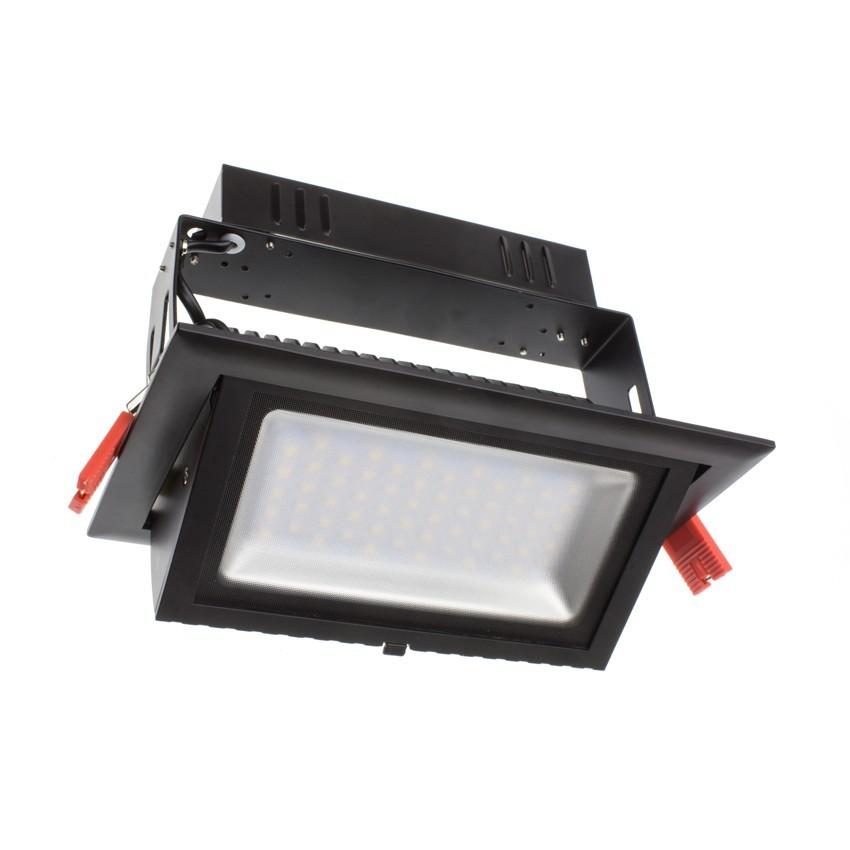 Projecteur LED SAMSUNG 120lm/W Orientable Rectangulaire 28W Noir LIFUD