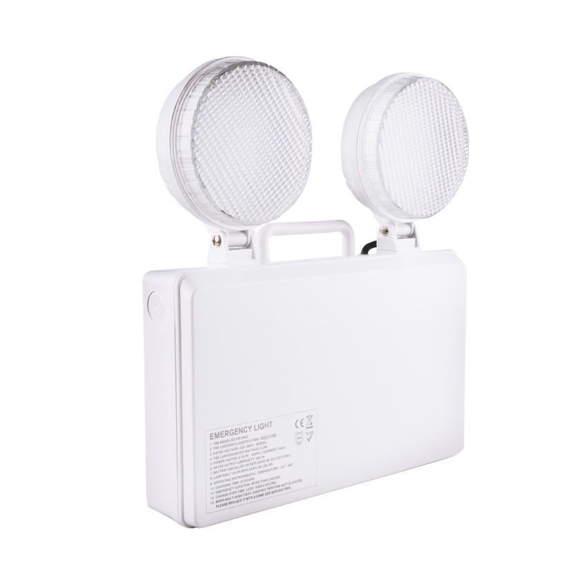 Balise de Secours LED TwinSpot Circulaire 3W