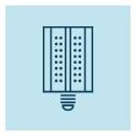 Lampes LED éclairage public