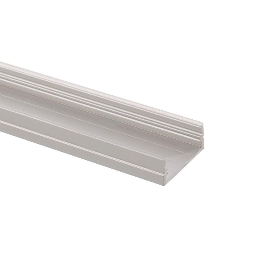 Profilo di alluminio 1m per strisce led 120led m b39 for Profilo alluminio led leroy merlin