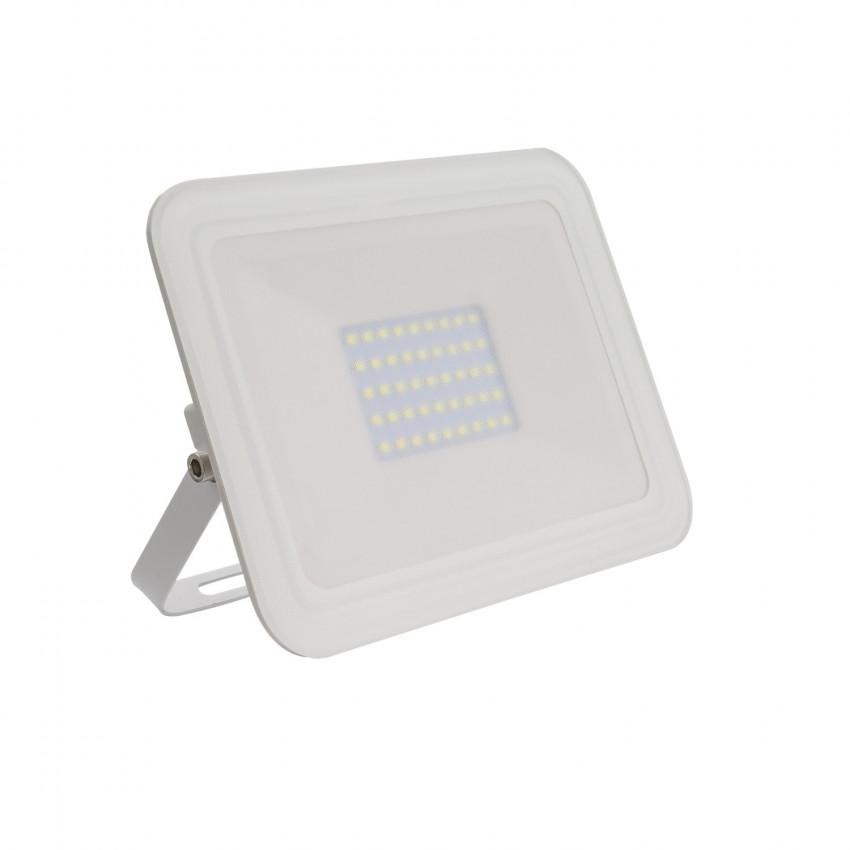 Proiettore LED Slim 30W 120lm/W IP65 Vetro Bianco