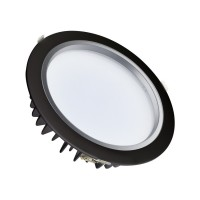 Downlight LED SAMSUNG 40W 120lm/W Nero LIFUD