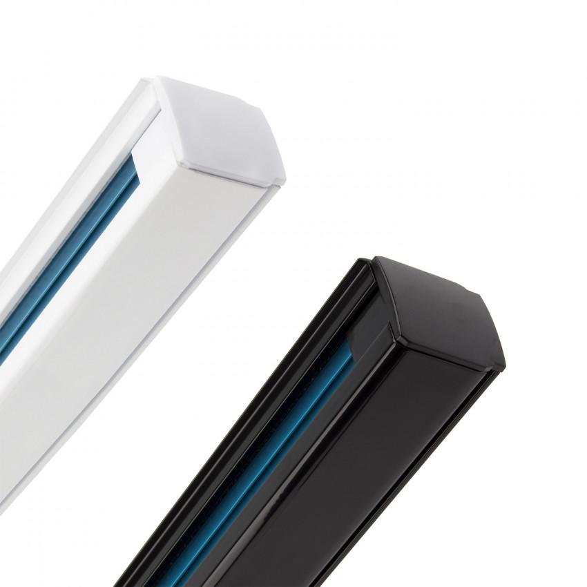 Binario Trifase Alluminio per Faretti LED 1 Metro