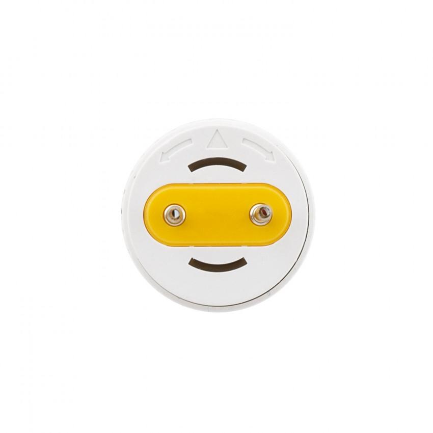 Tubo LED T8 Vetro 1200mm Connessione Unilaterale 18W 160lm/W