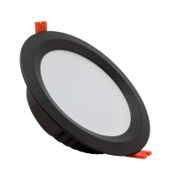 Downlight LED SAMSUNG 120lm/W Aero 24W UGR19 Nero LIFUD