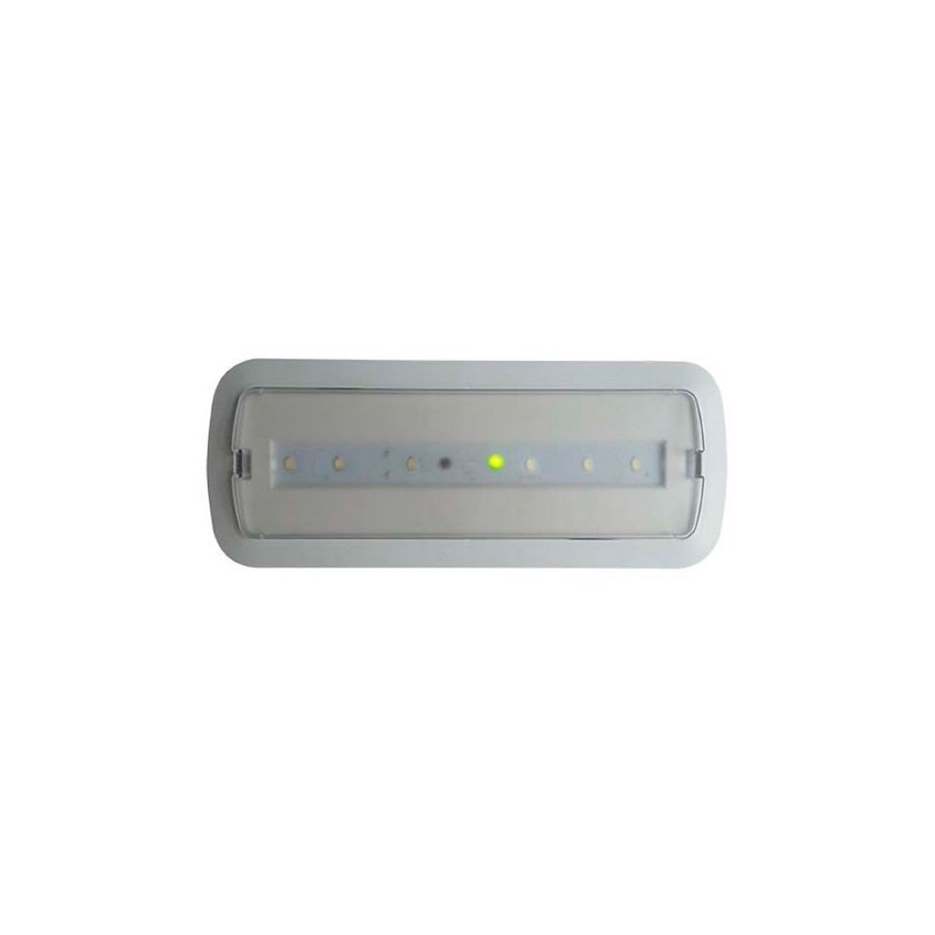 Luce di emergenza led 3w kit soffitto luce permanente for Luces emergencia led