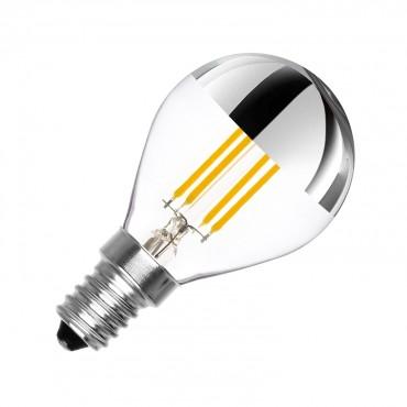 Lampadine Led E14.Lampadina Led E14 G45 Regolabile Filamento Reflect 3 5w